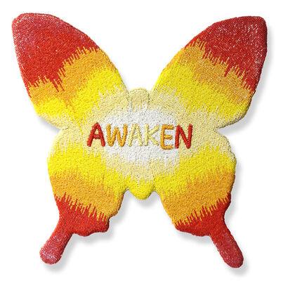 Stephanie Hirsch, 'Awaken (Yellow and Red)', 2015