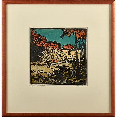 William S. Rice, 'Cresheim Mill - Autumn, California', ca. 1930