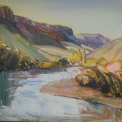 Robert Reynolds, 'Autumn Light, Rio Grande', 2019