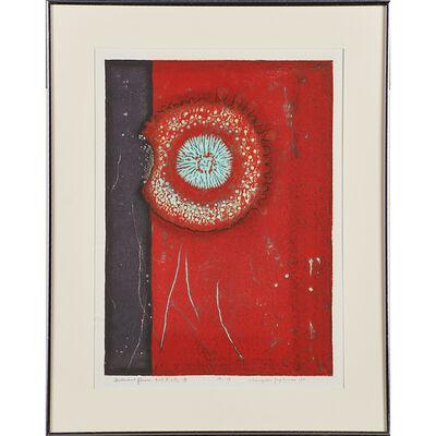 Tajima Hiroyuki, 'Two woodblocks in colors'