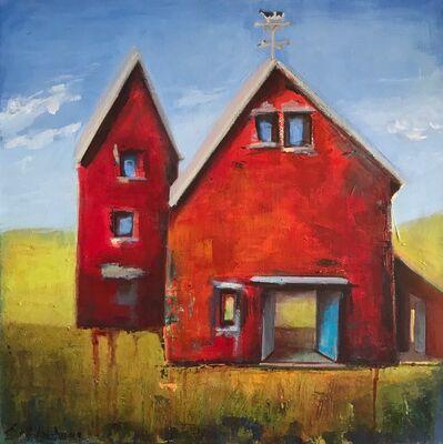 JoAnn Augur, 'Red Barns', 2018