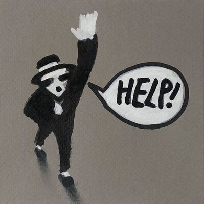 Jonathan Huxley, 'Help!', 2018