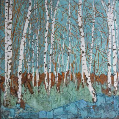 Piet van den Boog, 'Birch Forest', 2018