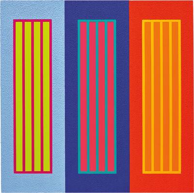 Peter Halley, 'Three Prisons', 2009