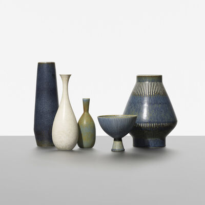 Carl Harry Stålhane, 'Collection of Five Vessels', c. 1950