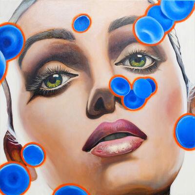 Manzur Kargar, 'Blue Blood Cells 4'