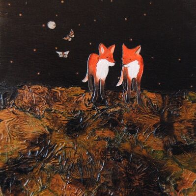 Ashley Anne Clark, 'Red Fox Brothers', 2017