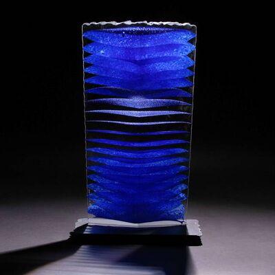 Colin Reid, 'Colour Saturation; Blue Column', 2011