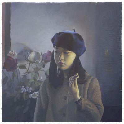 Wang 王 Yifan 一凡, 'Wu Xiaoke and Flowers 吴小可与花', 2017