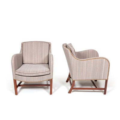 "Kaare Klint, 'Pair of ""Mix"" armchairs', 1930"