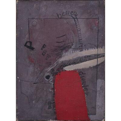David Hockney, 'Heaven perpendicular', 1962