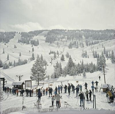 Slim Aarons, 'Skiing In Vail', 1967