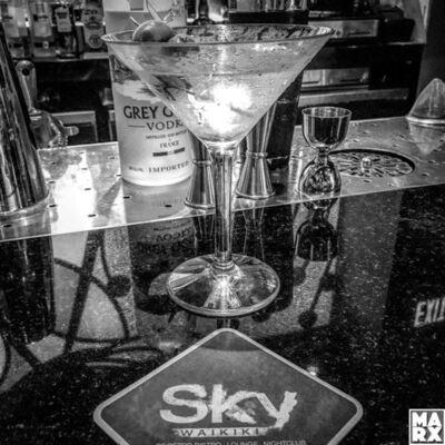 Andy Marx, 'Sky Bar Honolulu'