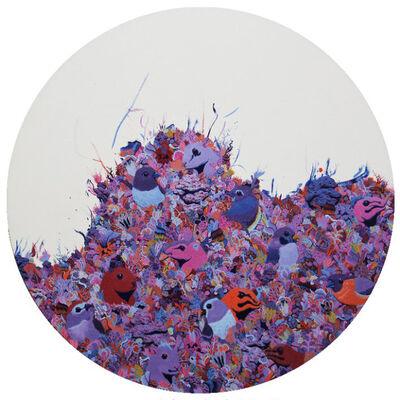 Li Shaoyan, 'Colorful Mountain 1', 2018