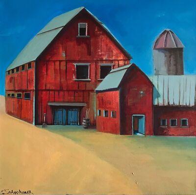 JoAnn Augur, 'Midwest Barn', 2018