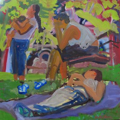 Dena Schutzer, 'Picnic, Three Figures', 2017
