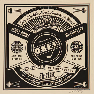 Shepard Fairey, 'Luxurious Sound', 2014