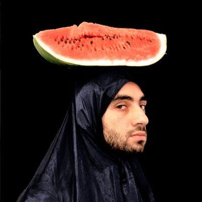Mehdi-Georges Lahlou, 'Autoportrait à la Pastèque', 2010