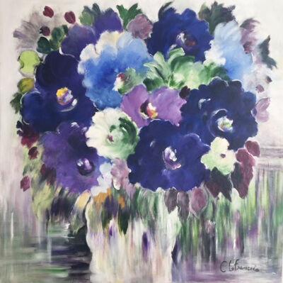 Claudette Lefrancois, 'Du bonheur en bleu'