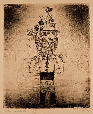 Paul Klee, 'Stachel der Clown', 1931
