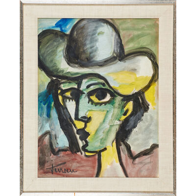 Jens Jensen, 'Untitled (Woman in a Hat)', second half of the 20th C.