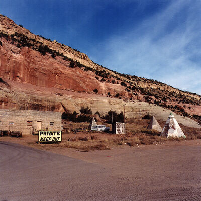 Daniel Mirer, 'Private Keep Out, New Mexico', 2000