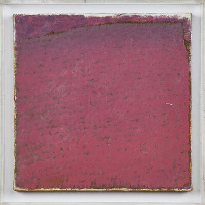 Warren Rohrer, 'Settled Red', 1982