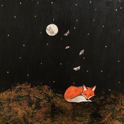 Ashley Anne Clark, 'Sleeping Fox with Butterflies', 2017