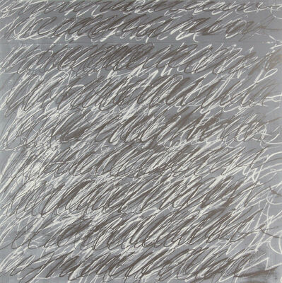 """Cy Twombly, 'Untitled from """"On the Bowery,""""', 1969-71"""