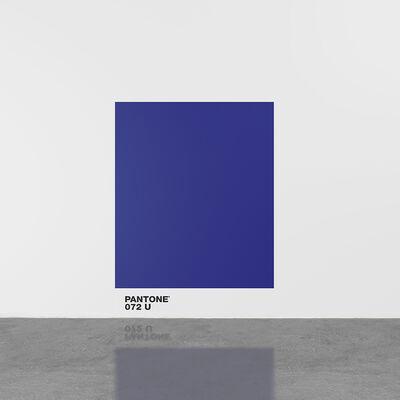 Haim Steinbach, 'pantone072U', 2016