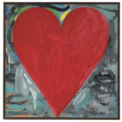 Jim Dine, 'Love at Sea', 2000