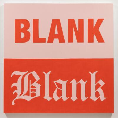 Gabriella Sanchez, 'Blank', 2018