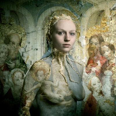 Bear Kirkpatrick, 'Nicole: After the Master of Saint Veronica', 2014