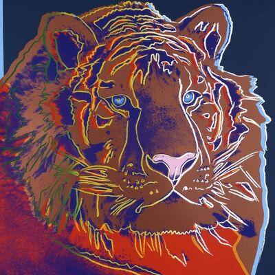 "Andy Warhol, 'Siberian Tiger from ""Endangered Species"" portfolio', 1983"
