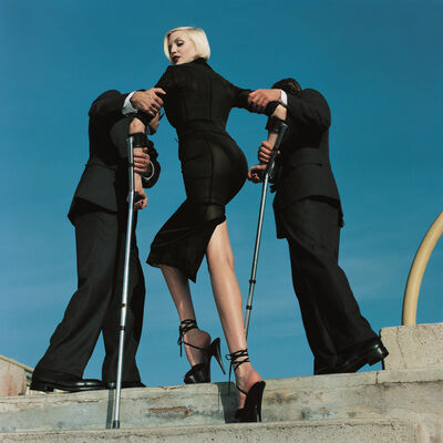 Helmut Newton, 'High & Mighty Shoot, American Vogue', 1995