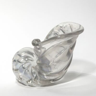 Barovier & Toso, 'An iridescent crystal shell', 1930s