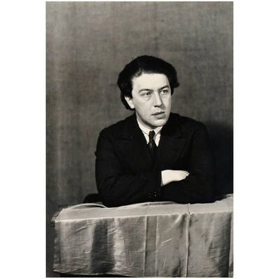 Man Ray, 'Photography of André Breton', 1932