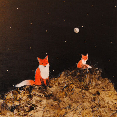 Ashley Anne Clark, 'Father and Son Red Fox', 2017
