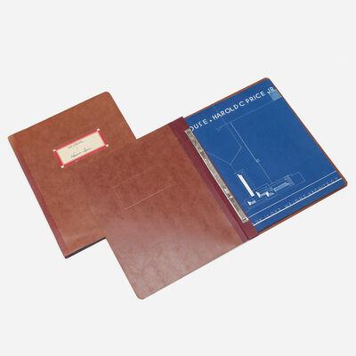 Frank Lloyd Wright, 'collection of ephemera from Hillside House, Bartlesville, Oklahoma', 1978