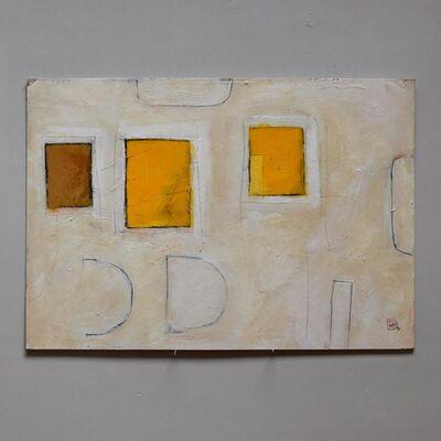 Andrew Johnstone, '3 squares yellow (337)', 2000