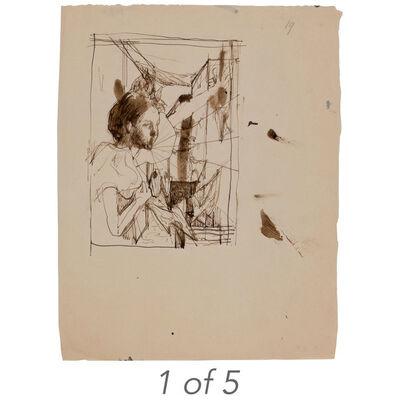 Pavel Tchelitchew, '(i) Lopez Willshaw; (ii) Rosita Sarnoff (T-76); (iii) Untitled (T-78); (iv) Untitled (T-77); (v) Untitled (T-97)'