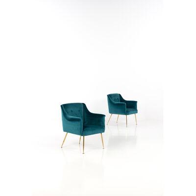 Carlo Pagani, 'Camelia; Pair of armchairs', circa 1952