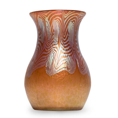 Loetz, 'Loetz Vase Phenomen Gre 3/430 red ca 1903', ca. 1903