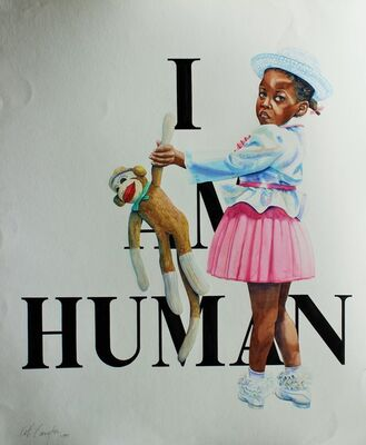 Keith Carrington, 'I am Human', 1994