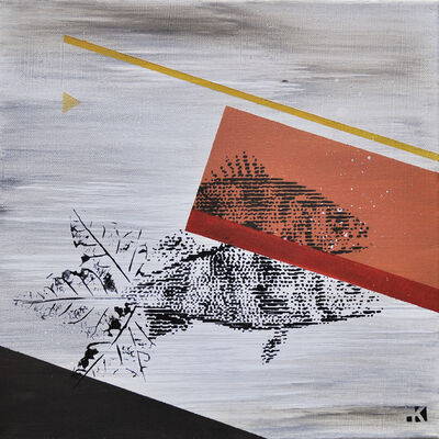 Krayon, 'Fishes n°4', 2018
