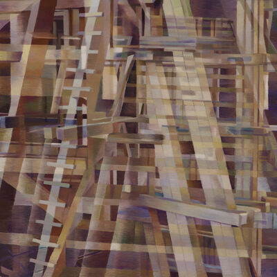 Nancy Newman Rice, 'Wooden Structure 1', 2015
