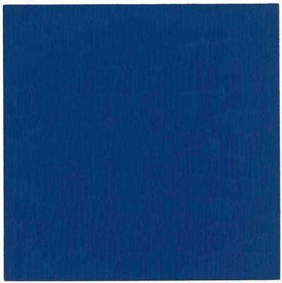 Marcia Hafif, 'Heliogen Blue', 1998