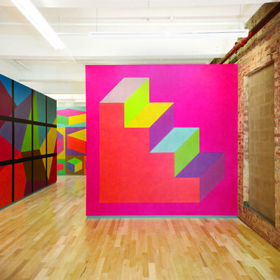 Sol LeWitt, 'Wall Drawing #610', 1989