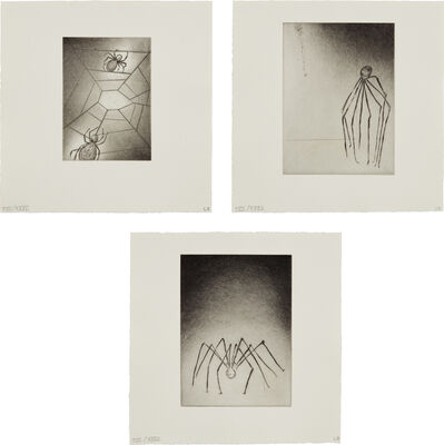 Louise Bourgeois, 'Ode à ma mère (Ode to My Mother): three plates', 1995