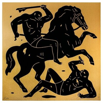 Cleon Peterson, 'INTO THE NIGHT', 2014